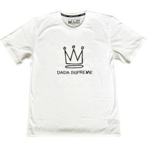 ■メール便選択で送料無料■ DADA バスケット Tシャツ Big Crown AMS009C WBT ホワイト kanisponet