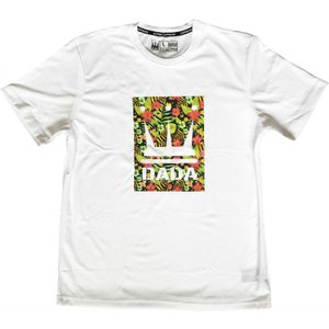 ■メール便選択で送料無料■ DADA バスケット Tシャツ Floral Vision AMS017C WRT ホワイト ダダ ミニバス ダンス kanisponet