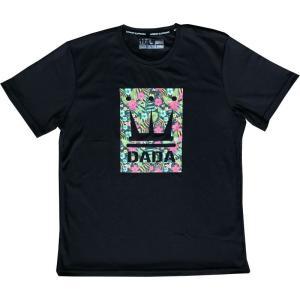 DADA Tシャツ Floral Vision AMS017C ZRT ブラック ダダ ミニバス ダンス バスケット 【メール便選択で送料無料】|kanisponet