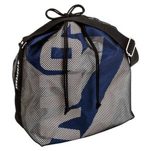CONVERSE バスケット ボールケース(1個入) C1057098 シルバー×ブルー コンバース ミニバス|kanisponet