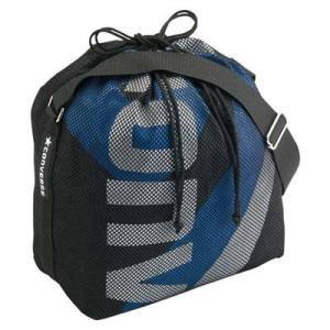 CONVERSE バスケット ボールケース(1個入) C1057098 ブラック×ブルー コンバース ミニバス|kanisponet