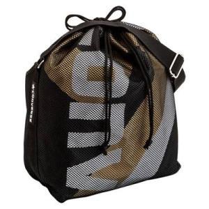 CONVERSE バスケット ボールケース(1個入) C1057098 ブラック×ゴールド コンバース ミニバス|kanisponet