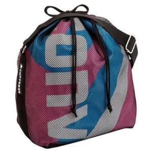 CONVERSE バスケット ボールケース(1個入) C1057098 ピンク×サックス コンバース ミニバス|kanisponet