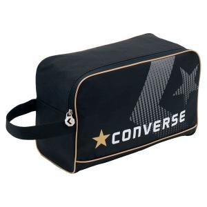 CONVERSE バスケット シューズケース C1500097 ブラック×ゴールド コンバース ミニバス|kanisponet