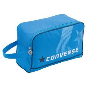 CONVERSE バスケット シューズケース C1500097 ブルー コンバース ミニバス|kanisponet