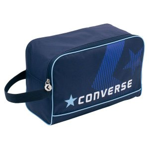 CONVERSE バスケット シューズケース C1500097 ネイビー コンバース ミニバス|kanisponet