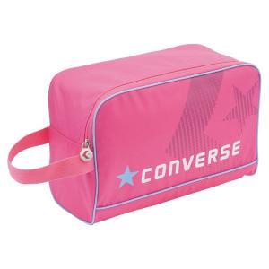 CONVERSE バスケット シューズケース C1500097 ピンク コンバース ミニバス|kanisponet