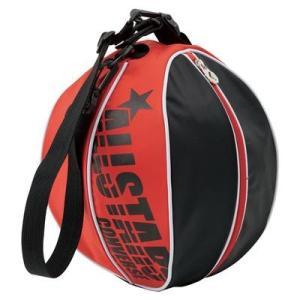 CONVERSE バスケット ボールケース 1個入れ C1510097 ブラック×レッド コンバース ミニバス|kanisponet