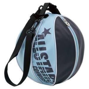 CONVERSE バスケット ボールケース 1個入れ C1510097 ネイビー×Bブルー コンバース ミニバス|kanisponet