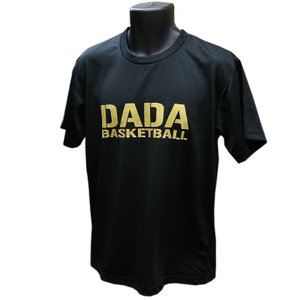 DADA Tシャツ BIG LOGO TEE DA10-002 ブラック ダダ ミニバス ダンス バスケット 【メール便選択で送料無料】|kanisponet