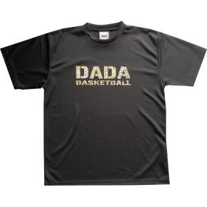 ■メール便選択で送料無料■ DADA バスケット Tシャツ BIG LOGO TEE ヒョウ DA10-002LBLK kanisponet