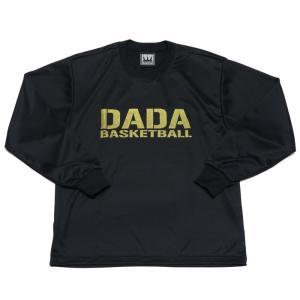 DADA BIG LOGO LONG TEE ロングTシャツ DA10-004 ブラック ダダ 長袖 バスケット 【メール便選択で送料無料】|kanisponet