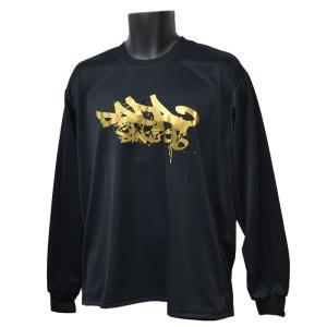 DADA ロングTシャツ CITY BALL LONG TEE DA16-003 ブラック ダダ ミニバス ダンス バスケット 【メール便選択で送料無料】|kanisponet