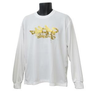 DADA ロングTシャツ CITY BALL LONG TEE DA16-003 ホワイト ダダ ミニバス ダンス バスケット 【メール便選択で送料無料】|kanisponet