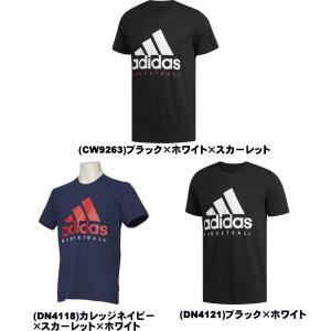 《メール便無料》 アディダス バスケット 半袖 Tシャツ ADIDAS BASKETBALL LOG...
