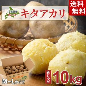(送料無料)じゃがいも きたあかり 10kg(越冬じゃが・芋...