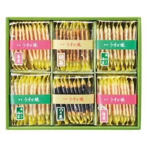 無料包装・無料熨斗名書き うすば焼お煎餅6個詰合せ お祝 内祝 ご挨拶 ギフト|kanji