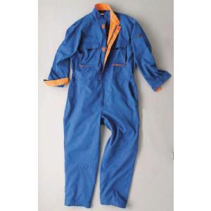[つなぎ・ツナギ]長袖つなぎ 1515-30メンズ・レディースカジュアルツナギ 4L・5L寸|kanjya