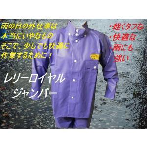 「雨合羽」レリーロイヤル上衣4L|kanjya