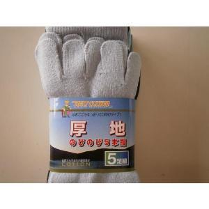 厚地のびのび5本指靴下カラー 5足組2022ソックス|kanjya