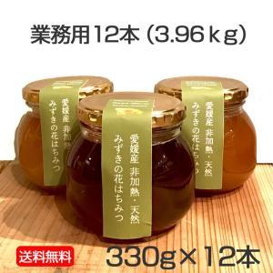 ミズキのはちみつ 330g×12本<3.96kg>|kanjyukuya