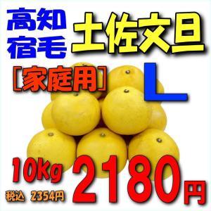 【高知宿毛産】「家庭用」土佐文旦10kgL|kankitsu