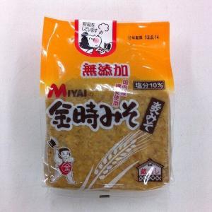 【宮居みそ】無添加金時みそ(麦みそ)1kg|kankitsu