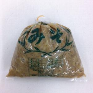 【愛媛 宇和島】はだか麦100%麦味噌1kg(麦みそ)【夏季クール便推奨品】