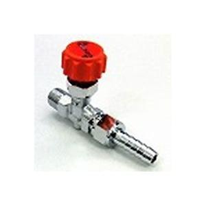 ニードルバルブホース口×RオネジCY-1310 | 10.5×R3/8(mm)