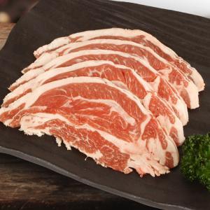 [凍]羊肉(ラム肉)スライス約1kg/焼肉/BBQ|kankoku-ichiba