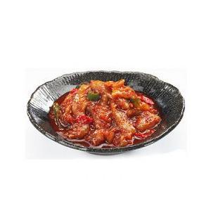 名称 市場チャンジャ  原材料名 鱈の内臓、赤唐辛子粉、青唐辛子粉、にんにく、生姜、ゴマ、食塩、砂糖...