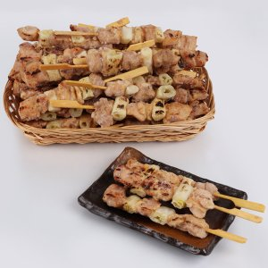 [凍]焼き鳥(ネギ串)40本/焼き鳥/BBQ|kankoku-ichiba