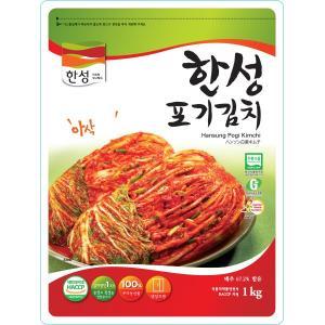 [冷]ハンソン白菜キムチ1kg(韓国産):5月1日入荷/韓国キムチ/白菜キムチ