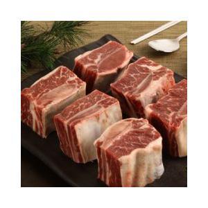[凍]チム用牛カルビ(ボーンイン・ショートリブ)1kg-アメリカ産/韓国焼肉/カルビ kankoku-ichiba