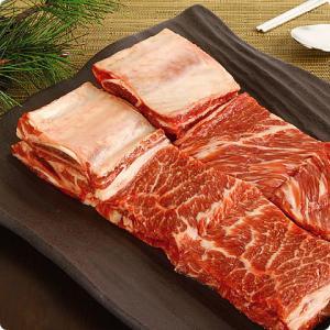 [凍]ピョルチン牛カルビ(ボーンインショートリブ)1kg/アメリカ産/韓国焼肉/BBQ kankoku-ichiba