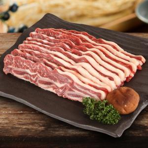 [凍]骨付き牛カルビスライス(LAカルビ)1kg/アメリカ産/韓国焼肉/BBQ kankoku-ichiba