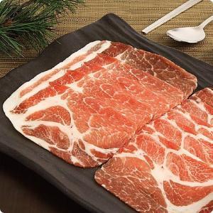 [凍]豚肩ローススライス/約1kg(厚さ5mm)-チリ産/韓国焼肉/BBQ|kankoku-ichiba