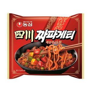 四川チャパゲッティ/韓国ラーメン/らーめん/インスタントチャジャン麺/チャジャン麺