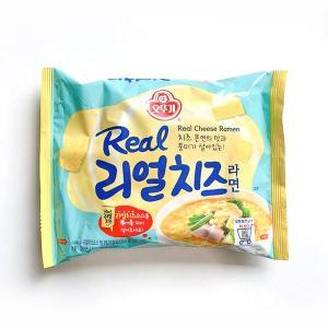 [オットギ] リアルチーズラーメン(135g×1個・525kcal)/韓国ラーメン/韓国食品/チーズ