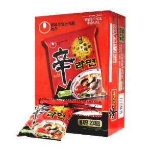 名称 辛ラーメン  原材料名 麺 : 小麦粉(輸入産)、パーム油、じゃがいもでん粉、食塩 他 スープ...