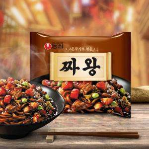 チャ王/韓国ラーメン/らーめん/インスタントチャジャン麺/チャジャン麺