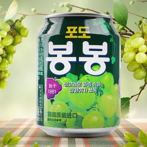 ぶどうジュース(粒入り)238ml/韓国ドリンク/韓国飲料水...