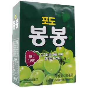 ぶどうジュース(缶)1箱12本/韓国ドリンク/韓国飲料水...