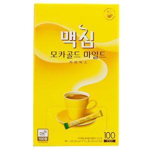 【SALE】Maximモカゴールドコーヒーミックス100本(黄)/韓国コーヒー/韓国インスタントコー...