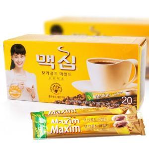 Maximモカゴルドコーヒーミックス20本(黄)/韓国インス...
