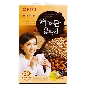 【紙箱に変更】「ダムト」クルミ・アーモンド・松の実・ハトムギ茶50包/韓国お茶/ユルム茶