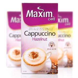【SALE】Maximカプチノへーゼルナッツコーヒーミックス(10本)/韓国コーヒー/韓国インスタン...