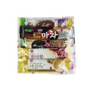 韓国産お茶お試しセット-予告なく組み合わせ変更の場合があります。