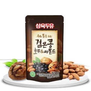 黒豆・クルミ・アーモンド豆乳【パウチ】/韓国飲料...の商品画像