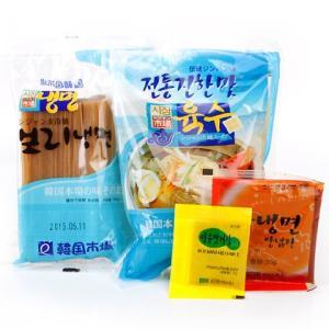 【242】シジャン水冷麺(Aセット)/韓国冷麺/韓国食品...
